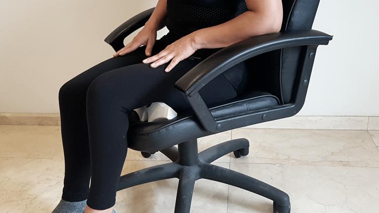 Uso de Cordus utilizando una silla