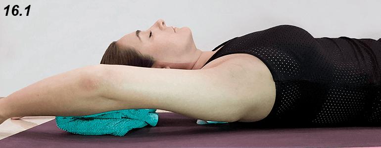 Te recomendamos usar un soporte de aprox. 3 o 4 cm de altura (toalla, almohada, libro) debajo de la cabeza.