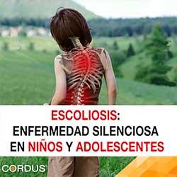 Escoliosis es una enfermedad silenciosa