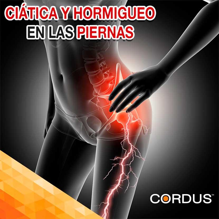 Hormigueo En Las Piernas Podrías Padecer Ciática Cordus México